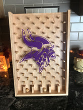 Load image into Gallery viewer, Minnesota Vikings NFL Plinko Board / Drinko Game