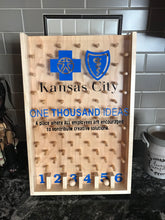 Load image into Gallery viewer, Customized Tabletop Wooden Plinko board with your company's logo