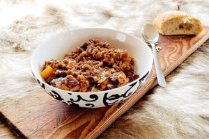 Chili Con Carne Basil Rice (Calorie Reduced)