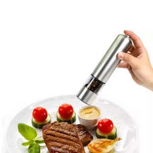 Automatic Spice Grinder in Stainless Steel - Grinder - Slim Cuisine