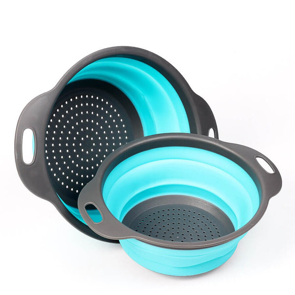 Collapsible Strainer (multiple colours available) - Strainer - Splice - Slim Cuisine - Slim Cuisine