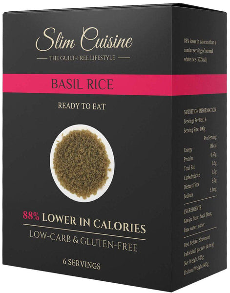 Low-Calorie Basil Rice - Rice - Slim Cuisine