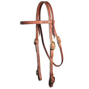 Professional's Choice Double Adjustable Browband Headstall