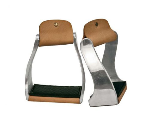 Aluminum Kid's Twisted Barrel Stirrups