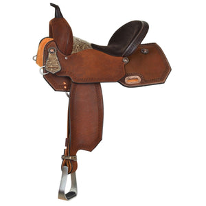 Circle Y Maddison Dark Oiled Barrel High Horse Saddle