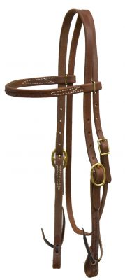 Oiled Harness Leather Headstall
