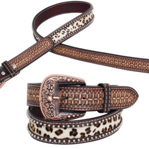 Rafter T Belt w/ Gator and Leopard