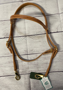 Berlin Browband Headstall Double Buckle & Quick Change Snaps