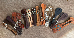 Assorted spur straps