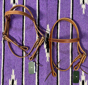 Berlin Pony Browband Headstall Double Buckle