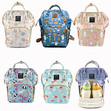 Load image into Gallery viewer, Cute Baby Diaper Backpack  Diaper Bags zelnaga.myshopify.com AllAboutBB AllAboutBB
