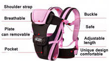 Load image into Gallery viewer, Secure and Comfortable Baby Carrier  Baby Carrier zelnaga.myshopify.com AllAboutBB AllAboutBB