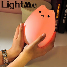 Load image into Gallery viewer, Cute Cat Children Soft Night Light For Nursery  Gadgets zelnaga.myshopify.com AllAboutBB AllAboutBB