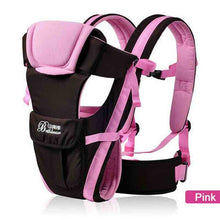 Load image into Gallery viewer, Secure and Comfortable Baby Carrier Pink / China Baby Carrier zelnaga.myshopify.com AllAboutBB AllAboutBB