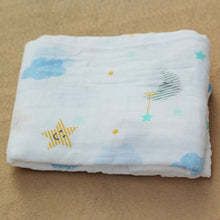 Load image into Gallery viewer, Cotton Muslin Baby Blanket Swaddle Night Swaddle zelnaga.myshopify.com AllAboutBB AllAboutBB