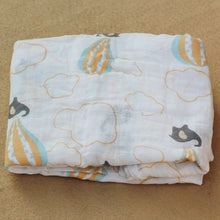 Load image into Gallery viewer, Cotton Muslin Baby Blanket Swaddle Balloon Swaddle zelnaga.myshopify.com AllAboutBB AllAboutBB