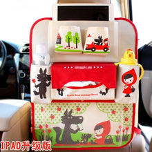 Load image into Gallery viewer, Hanging Organiser Basket for Cars or Strollers Red White Animals Gadgets zelnaga.myshopify.com AllAboutBB AllAboutBB