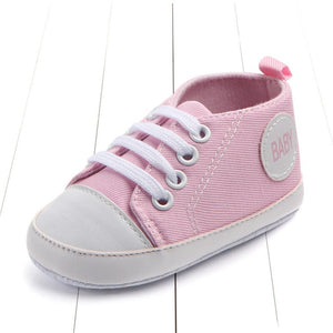 Classic Sports Sneakers First Walkers Soft Sole Anti-slip Baby Shoes Pink Baby / 13-18 Months Baby Shoes zelnaga.myshopify.com AllAboutBB AllAboutBB