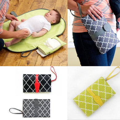 Diaper changing clutch  Diaper Bags zelnaga.myshopify.com AllAboutBB AllAboutBB