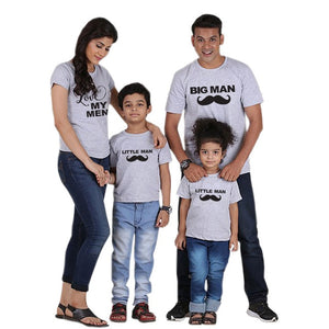Love My Men - Grey (Matching Family Tee Set) Mom XXL Family Tee zelnaga.myshopify.com AllAboutBB AllAboutBB