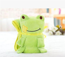 Load image into Gallery viewer, Baby Blanket Sleeping Bag Green Froggie Swaddle zelnaga.myshopify.com AllAboutBB AllAboutBB