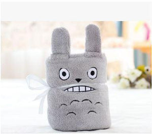 Baby Blanket Sleeping Bag Grey Totoro Swaddle zelnaga.myshopify.com AllAboutBB AllAboutBB