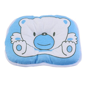Anti Roll Flat Head Cushion Baby Pillow Blue Pillows zelnaga.myshopify.com AllAboutBB AllAboutBB