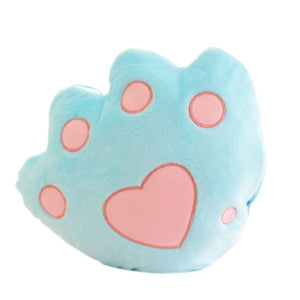 Light Up Plush Bear Paw LED Pillow (34cm) Blue Light Up Pillow zelnaga.myshopify.com AllAboutBB AllAboutBB