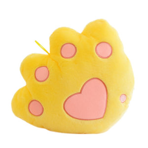 Light Up Plush Bear Paw LED Pillow (34cm) Yellow Light Up Pillow zelnaga.myshopify.com AllAboutBB AllAboutBB