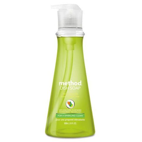 Dish Soap, Lime & Sea Salt, 18 Oz Pump Bottle