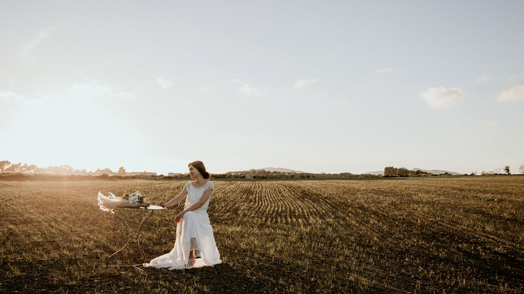 Dazzling Catalonia Shooting - Tilda Knopf Bridal