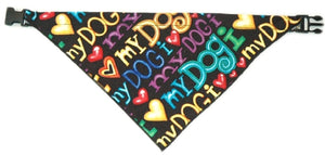 BANDANA WITH EZ-CLIP (EXTRA-SMALL TO EXTRA-LARGE)