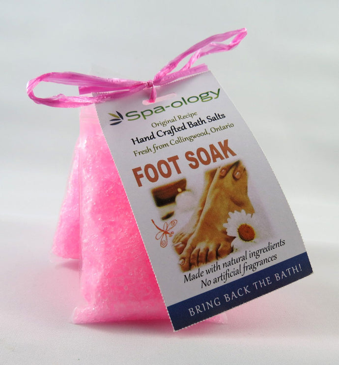 Foot Bath Salts 3-Pkg