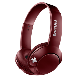Philips Original Wireless Bluetooth Headset-Red