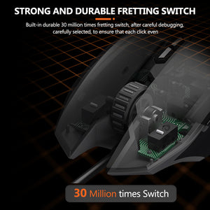 Essential Gaming Mouse Wired - DAREU EM915
