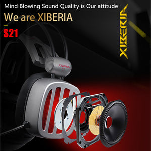 XIBERIA S21 7.1-Surround Sound Stereo Gaming Headset