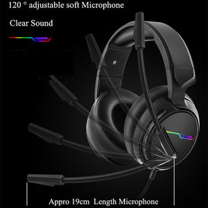 7.1 Sound Over-ear Wired Headset