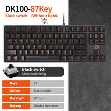 Load image into Gallery viewer, Mechanical Gaming Keyboards 87/104 keys Blue/Black Switch