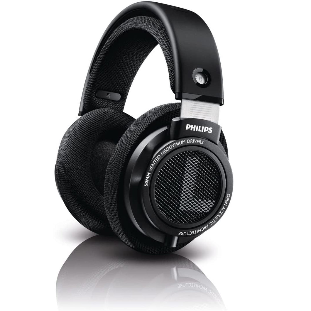 Philips SHP9500 HiFi Precision Stereo Over-Ear Headphones