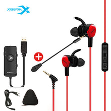 Load image into Gallery viewer, Xiberia MG-1 Stereo Bass Surround Gaming Earbuds