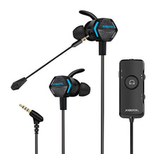 Load image into Gallery viewer, Xiberia MG-2 Dual Microphone Gaming Earbuds