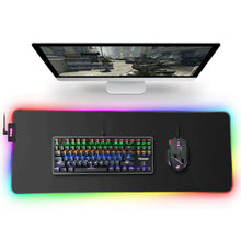 Load image into Gallery viewer, RGB Gaming Mousepad Large