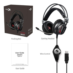 XIBERIA V10 Stereo Bass Wired Gaming Headset