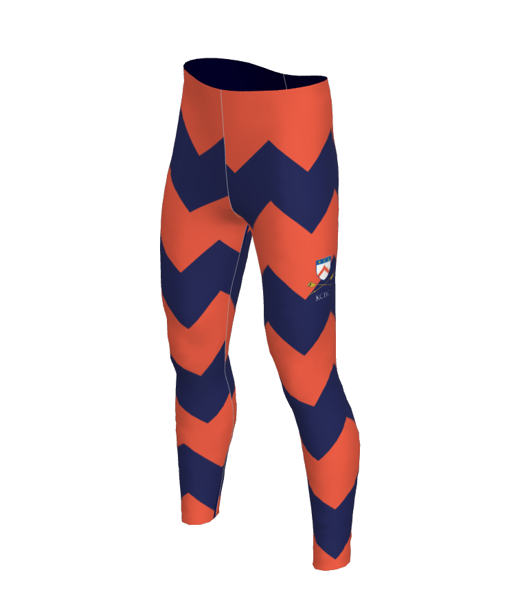 Keble Mens Chevron Leggings