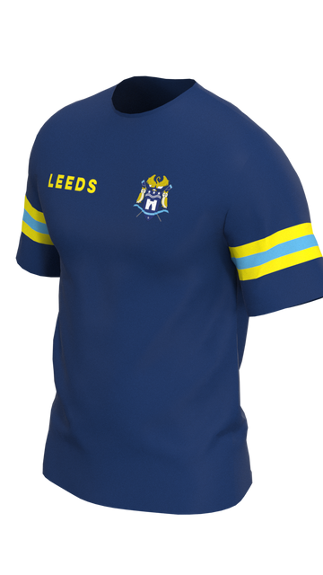 Leeds Mens Short Sleeve Tech Shirt