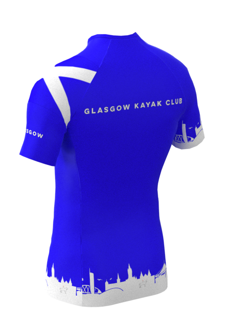 Glasgow Kayak Club Mens Short Sleeve Rashvest