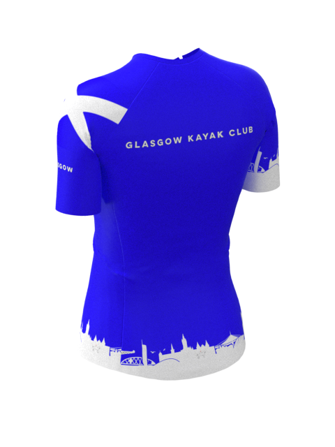 Glasgow Kayak Club Womens Short Sleeve Rashvest