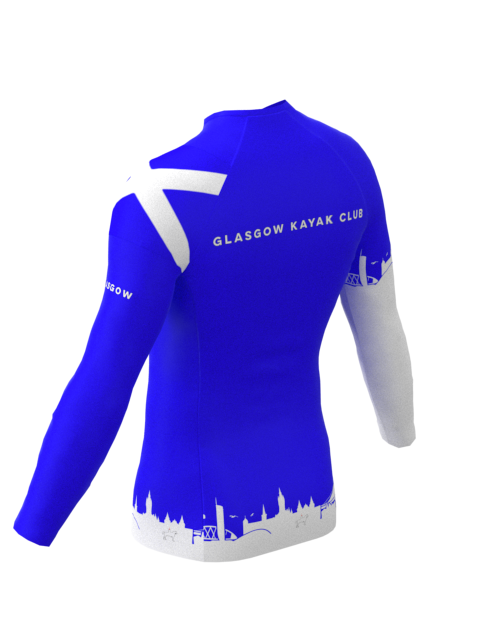 Glasgow Kayak Club Mens Long Sleeve Rashvest