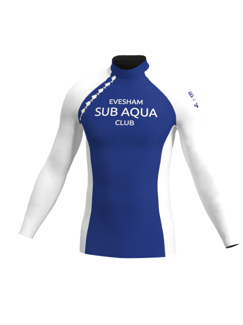 Evesham Sub Aqua Club Mens Long Sleeve Rashvest