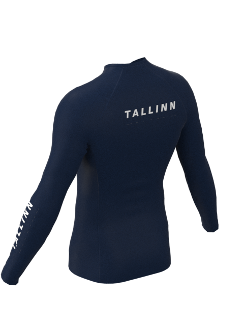 Tallinn Mens Long Sleeve Shirt Blue